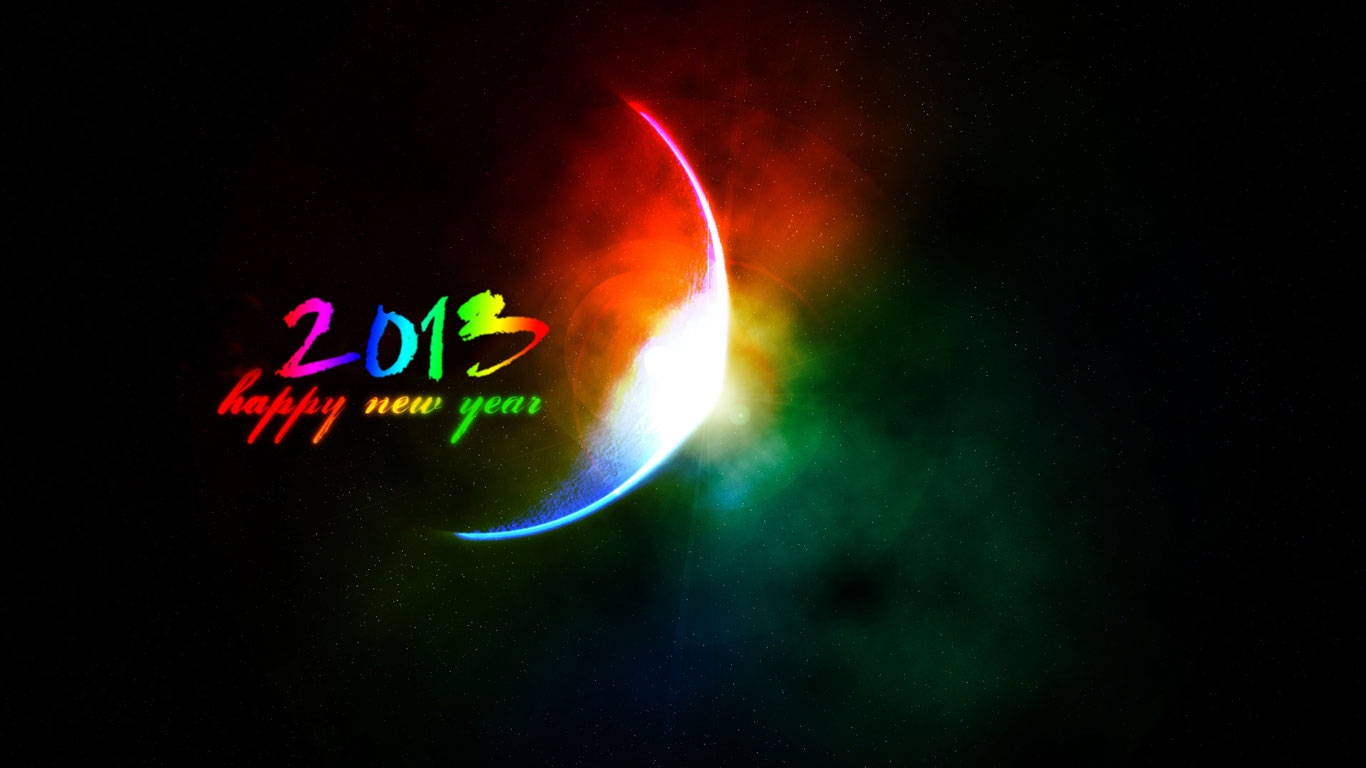 best new year day wallpaper for 2013