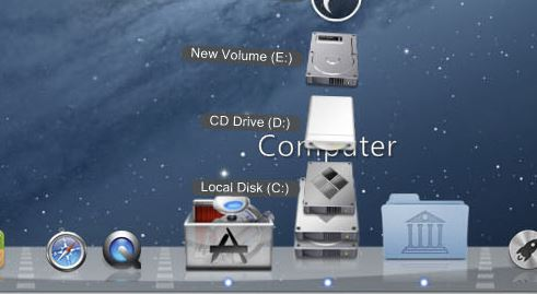 MAC Dock MAC Transformation Skin Pack for Windows 8