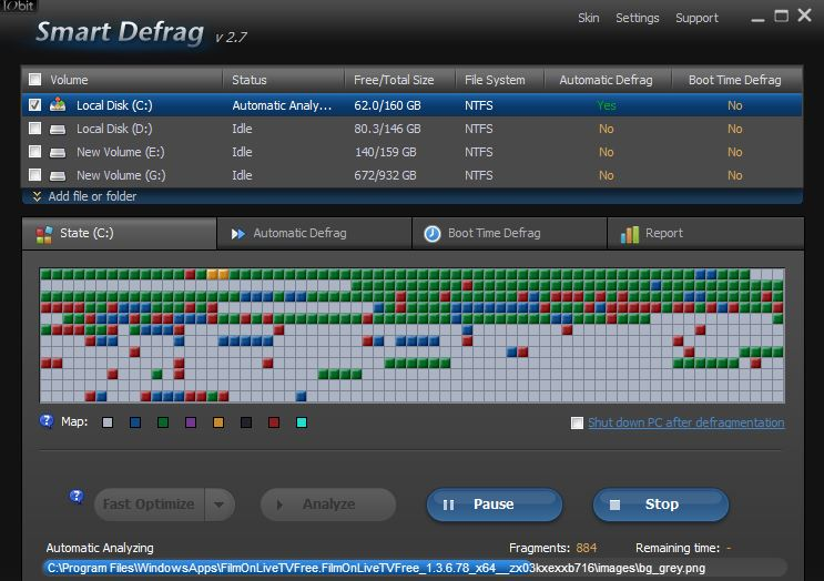 Smart Defrag 5 Best Disk Defragmenting Tools For Windows 8