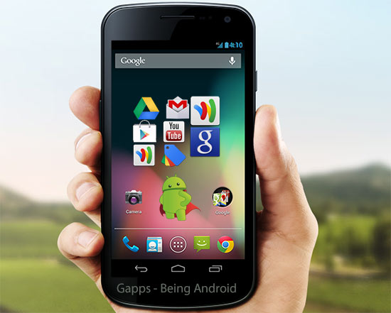 GAPPS : Download Google Apps Package for Android Custom ROMS