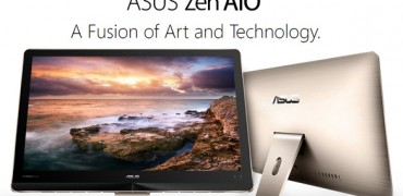 The all-in-one ASUS Zen AiO with 3D camera Intel RealSense & high port USB 3.1